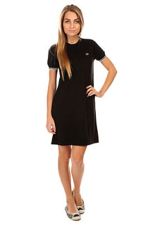 Платье женское Fred Perry Knitted Dress Black