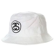 Панама Stussy Link Bucket Hat White