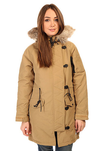 Куртка парка женская Penfield Paxton Long Insulated Snorkle Jacket Tan