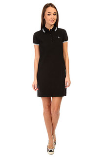 Платье женское Fred Perry Twin Tipped Fred Perry Dress Burgundy