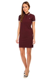 Платье женское Fred Perry Twin Tipped Fred Perry Dress Black