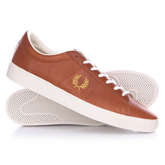 Ботинки низкие Fred Perry Spencer Full Grain Leather Brown
