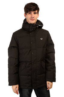 Пуховик Fred Perry Down Field Jacket Black