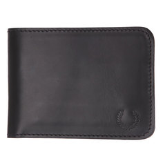Кошелек Fred Perry Leather Billfold Wallet Black