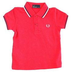 Поло детское Fred Perry My First Fred Perry Shirt Red
