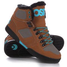 Кеды кроссовки высокие Osiris Nyc Shr Black/Grey
