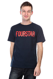 Футболка Fourstar League Navy
