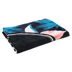 Полотенце Billabong Methodical Xlarge Black/Aqua