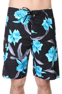 Шорты пляжные Billabong All Days Floral Black
