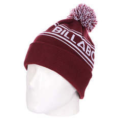 Шапка Billabong Linus Logo Beanie Wine