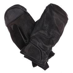 Варежки сноубордические Burton Mb Gondy Leather Mtt True Black