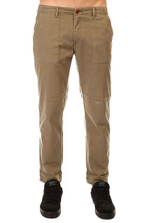 Штаны прямые Billabong Peace Not War Pants Grunge Green