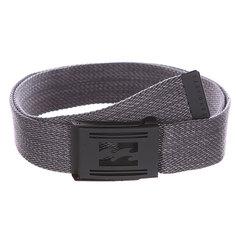 Ремень Billabong Logistik Belt Dark Grey Heather