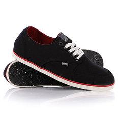 Кеды кроссовки низкие Element Topaz Black/Red