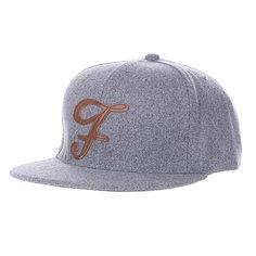Бейсболка TrueSpin Abc Wool Edition F Grey
