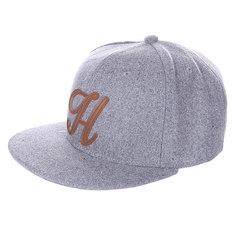 Бейсболка TrueSpin Abc Wool Edition H Grey