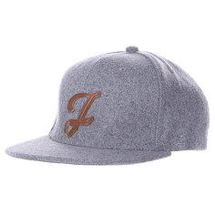 Бейсболка TrueSpin Abc Wool Edition I Grey