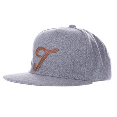 Бейсболка TrueSpin Abc Wool Edition T Grey