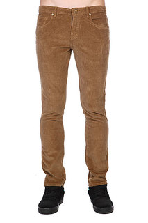 Штаны прямые Volcom Chili Chocker Cord Pant Bronze