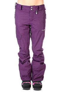 Штаны сноубордические женские Volcom Sn13-14 Elko Pant Deep Purple
