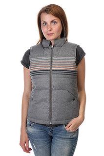 Жилет женский Roxy Freedom Vest St J Jckt Charcoal Heather