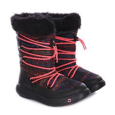 Сапоги зимние женские Roxy Summit J Boot Charcoal