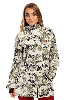 Куртка  женская DC Shoes Nature Dpm Jkt Dpm Camo Roxy