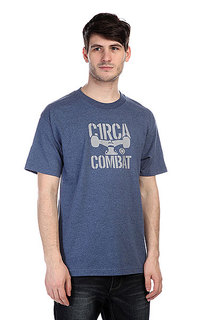 Футболка Circa Combat Icon Tee Denim Heather