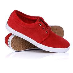 Кеды кроссовки низкие Dekline River Red/White