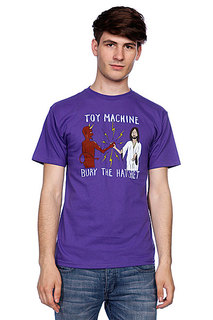 Футболка Toy Machine Bury The Hatchet II Purple