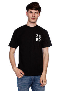 Футболка Zero Numero Black/White