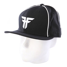 Бейсболка Fallen New Era Trademark Black/White