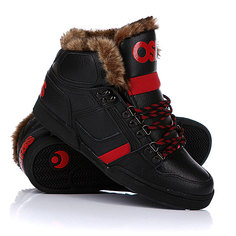 Зимние кеды Osiris Nyc 83 Shr Black/Red/Black
