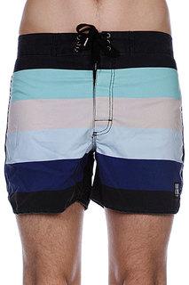 Пляжные мужские шорты Insight Retro Stud Bunker Black