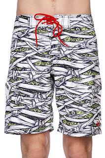 Пляжные мужские шорты Zoo York Mummified Boardshorts White