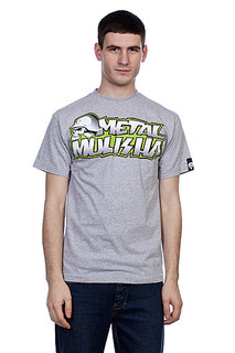 Футболка Metal Mulisha New Paint Heather Grey