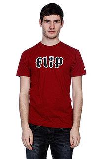 Футболка Flip Hkd Real Cardinal Red
