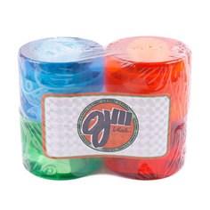 Колеса для скейтборда Oj III Jolly Ranch Juice Trance Red/Blue/Green/Orange 78A 60 mm