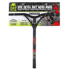 Руль для самоката Mgp Bat Wing Oversize With Rake Extreme She Devil Black 35mm-21 X23