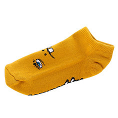 Носки низкие Toy Machine Betard Fooser Ankle Mustard