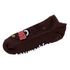 Носки низкие Toy Machine Poo Poo Head Ankle Brown