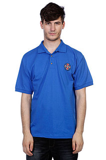 Поло Independent Truck Co Polo Shirt Royal Blue