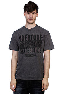Футболка Creature Remember To Die Charcoal Heather