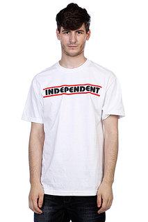 Футболка Independent Line B/C White