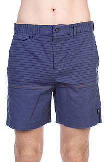 Пляжные мужские шорты Insight Vector Rain Walkshort Black Out Blue