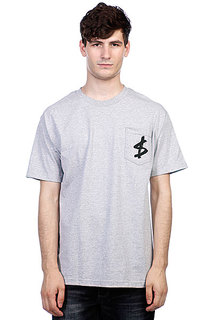 Футболка Slave Money Pocket Athletic Heather Grey