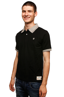 Поло Zoo York Murder Polo Black
