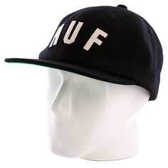 Бейсболка Huf Huf Shortstop Black