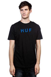 Футболка Huf Original Logo Tee True Black