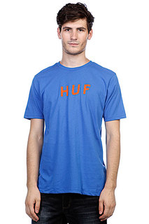 Футболка Huf Original Logo Tee Royal